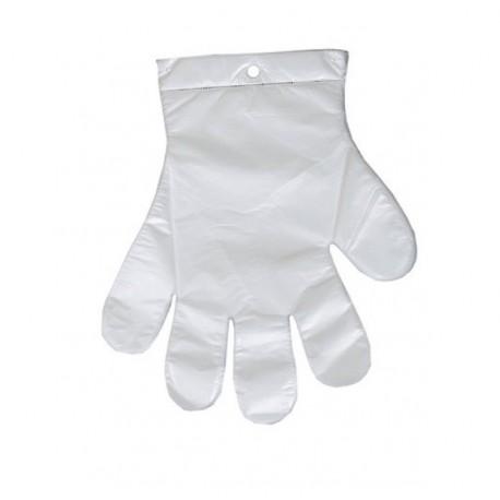 Jednorazowe rękawice foliowe 100szt.