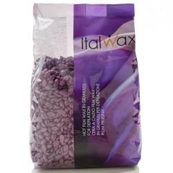Wosk twardy bez pasków Śliwka - 1 kg ItalWax
