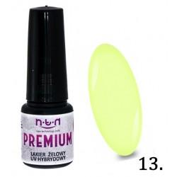 13. NTN Lakier żelowy UV - PREMIUM 6ml