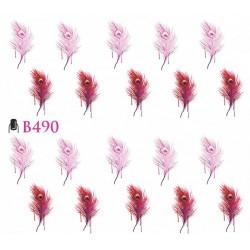 Naklejki wodne B490
