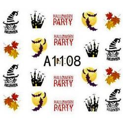 Naklejka Wodna Halloween A1107
