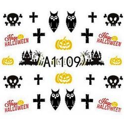 Naklejka Wodna Halloween A1108