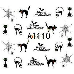 Naklejka Wodna Halloween A1109