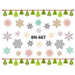 Naklejka wodna BN-667