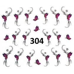 Naklejki wodne 304