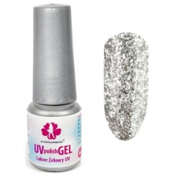 148. Lakier żelowy UV - STAR DUST COLLECTION - DIAMOND SHINE 6 ml