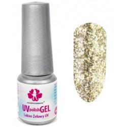 150. Lakier żelowy UV - STAR DUST COLLECTION - GOLDEN DIVA 6 ml