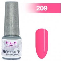208. NTN Lakier żelowy LED/UV - PREMIUM 6ml