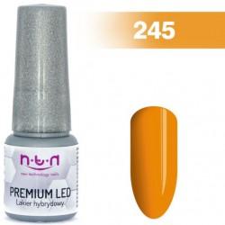 245. NTN Lakier żelowy LED/UV - PREMIUM 6ml
