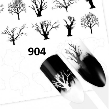 Naklejka wodna 904