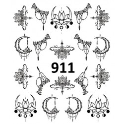 Naklejka wodna 911