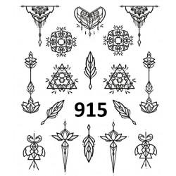 Naklejka wodna 915