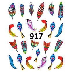 Naklejki wodne 917