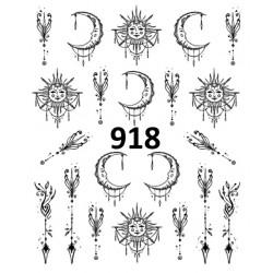 Naklejka wodna 918