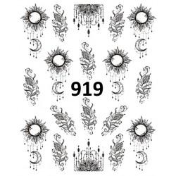 Naklejka wodna 919