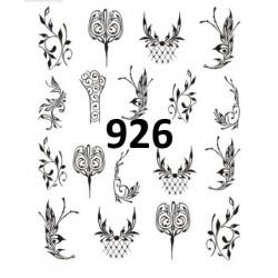 Naklejka wodna 926