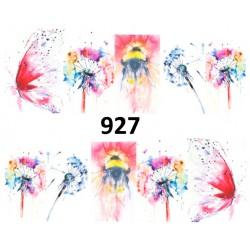 Naklejka wodna 927