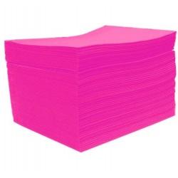 Serwety podfoliowane różowe - 50szt