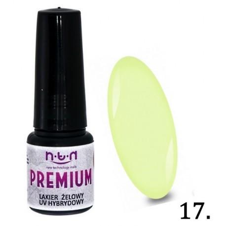 16. NTN Lakier żelowy UV - PREMIUM 6ml