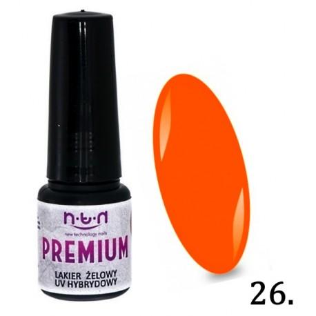 25. NTN Lakier żelowy UV - PREMIUM 6ml