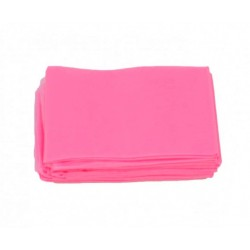 Podkład włókninowy z gumką pink 80x210cm 10szt.