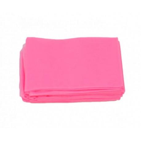 Podkład włókninowy z gumką pink 80x200cm 10szt.