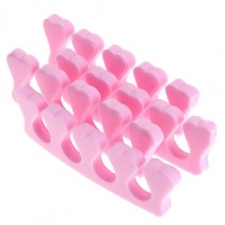 Seperatory różowe pianka 2szt