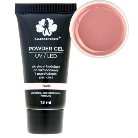 Akrylożel POWDER GEL- clear 15ml
