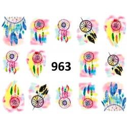 Naklejki wodne 963