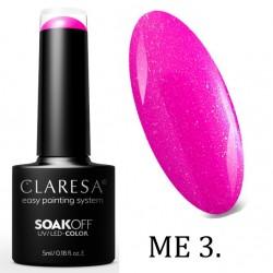 CLARESA MERMAID YELLOW UV/LED 5ml - 01