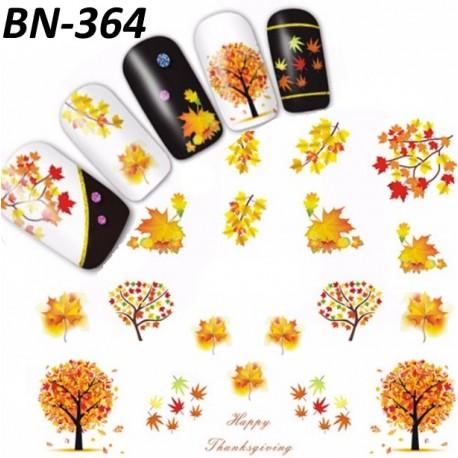 Naklejka Wodna Jesień nr BN-364