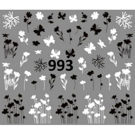 Naklejka wodna 993