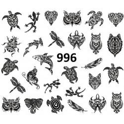 Naklejka wodna 996