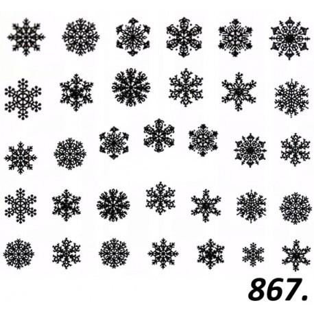 Naklejka wodna 867