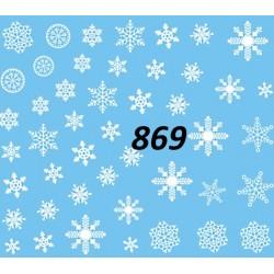 Naklejka wodna 869