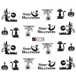 Naklejka Wodna Halloween A1119