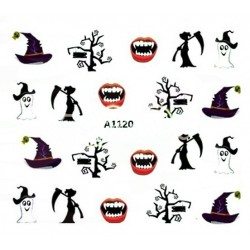 Naklejka Wodna Halloween A1120