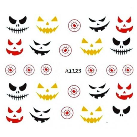 Naklejka Wodna Halloween A1125