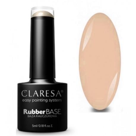 Claresa Rubber Base- Baza kauczukowa UV/LED 5ml, nr 6