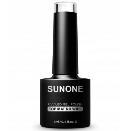 SUNONE TOP NO WIPE NA LAKIER HYBRYDOWY UV/LED 5 ml