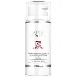 APIS Cherry Kiss Multiwitaminowe Serum z Liofilizowanymi Wiśniami i Acerolą 100ml