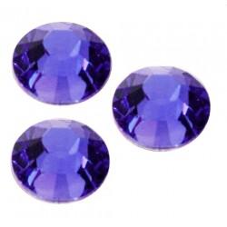 Cyrkonie Szlif  2mm BLUE