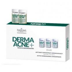 DERMAACNE+ Aktywny koncentrat normalizujący 5x5ml