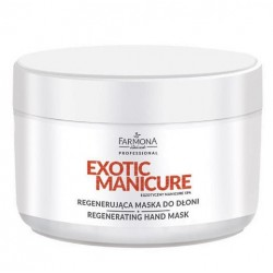 EXOTIC MANICURE Regenerująca maska do dłoni 300ml