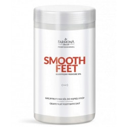 SMOOTH FEET, Grejpfrutowa sól do kapieli stóp 1500g
