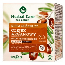 HERBAL CARE Krem odżywczy OLEJEK ARGANOWY 50ml