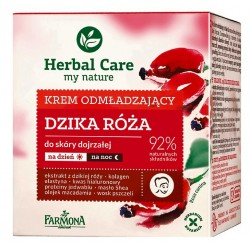 HERBAL CARE Krem odmładzający DZIKA RÓŻA 50ml