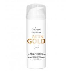 RETIN GOLD Krem wygładzająco - rozświetlający anti age 150ml