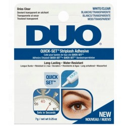 DUO Klej QUICK-SET do rzęs - Clear 7g