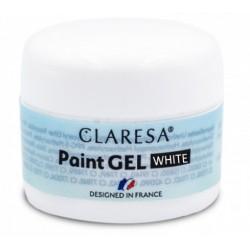 CLARESA PAINT GEL WHITE 5ml